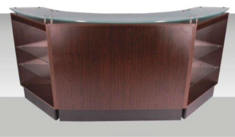 mdf comptoir caisse bureaux table en bois id de produit 601618250. Black Bedroom Furniture Sets. Home Design Ideas
