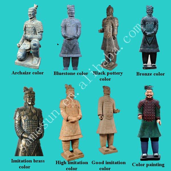 Outdoor decorative Terracotta warriors