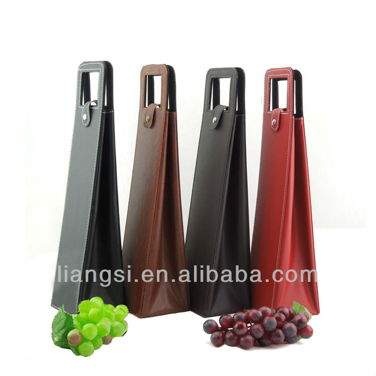 Single Packaging box for win box and leather wine carrier