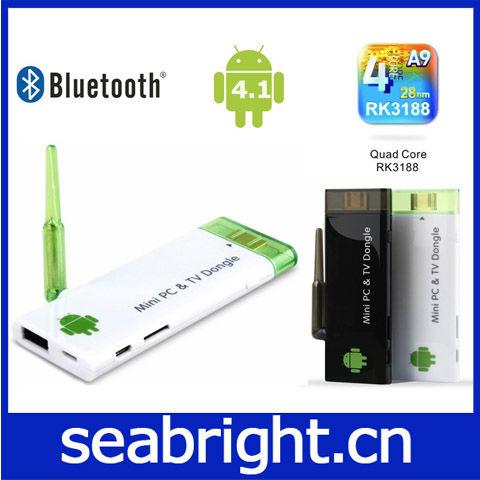2013 Cheapest HDMI rk3188 quad core android 4.2 tv stick
