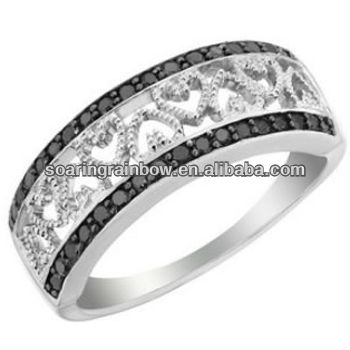 surgical steel rings for women