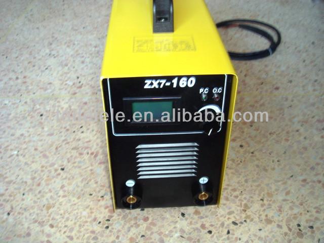 zx7-160 mma dc inverter welder
