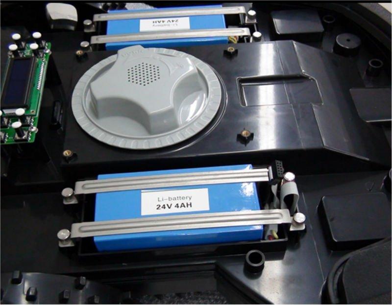 2012 New Design Waterproof Inteligent Robot Lawn Mower