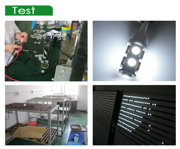 6pcs 5050smd Festoon auto led light