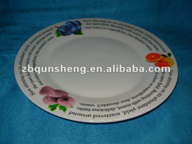 2013 new ceramic plate design