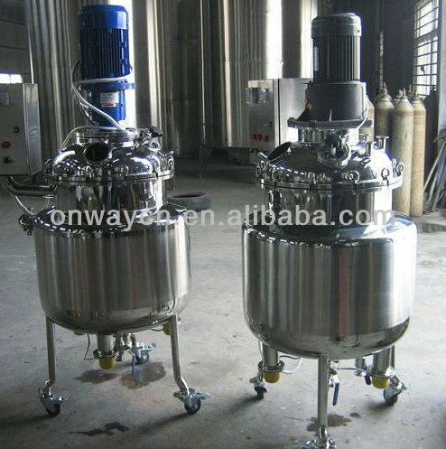 PL mixing tank with agitator