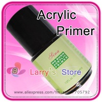 Big Cover No Burn Acrylic Primer Beauty Nail Art Care Tech Essential UV Base Gel Coat 0.5 Oz Easy Dry Tool 10 Pcs/Lot Free Ship