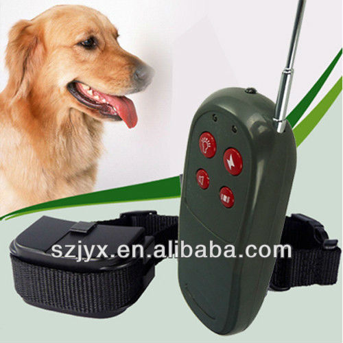 new arrival Pet Training Dog Vibrate Electric No Bark Shock Collar Remote Control Nylon Dog Collars Wholesale