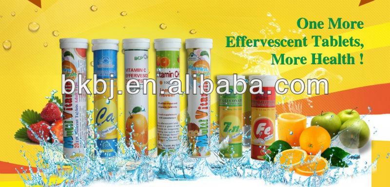 Vitamina c efervescentes bebida tablets