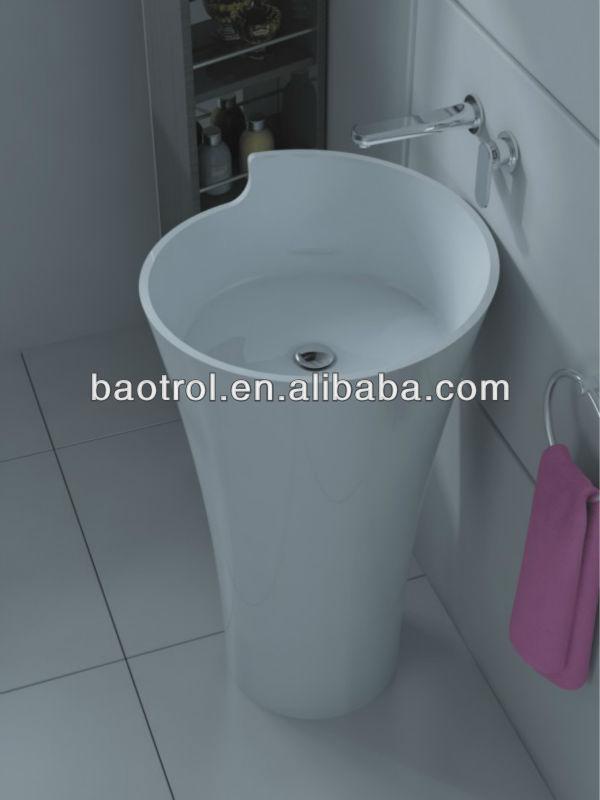 acrylic bathroom sink stone wash basin artificial stone sanitary