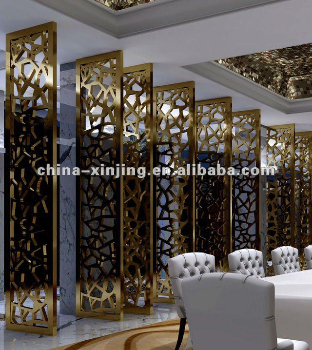 Interior Decoration Aluminium Panel : Decorative perforated metal screen panel aluminum wall
