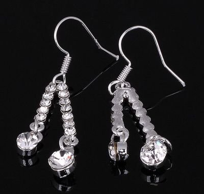 Fashion Lady's Stunning CZ Crystal 10KT gold filled Earrings.jpg