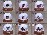 Мужская бейсболка 10pcs/lot strap back snapback Baseball hats/Caps EMS 5-10 days