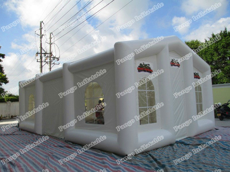 0.45mm pvc tarpaulin inflatable wedding tent/custom inflatable tent