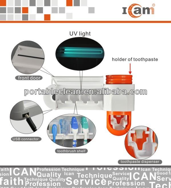 portable uv toothbrush sterilizer GFS-302