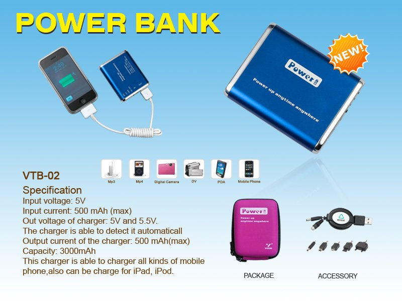 VTB-02 power bank