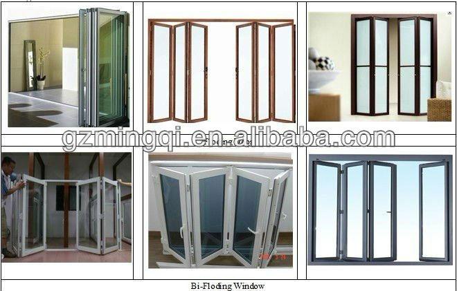 aluminium folding elevator door