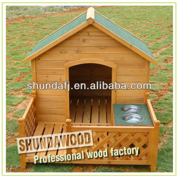 SDD10 unique wooden dog kennels