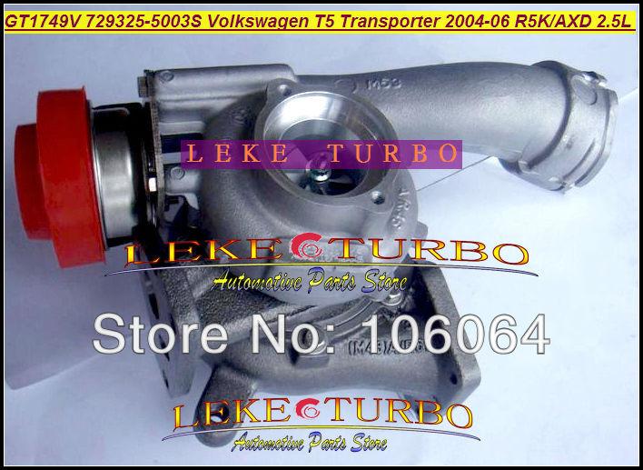 GT1749V 729325-5003S Turbocharger for VOLKSWAGEN T5 Transporter R5K AXD 2.5L 130HP 2004-2006 TURBO (5)