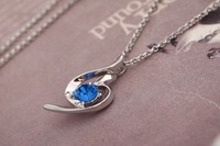Колье-цепь Necklaces classic chain pendant necklace jewelry gift for lady crystal