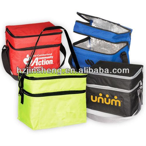 Cheap polyester promotional picnic tote bag for adults