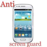 new 50pcs high quality Anti-Glare screen guard film for samsung GALAXY S3 mini S III i8190