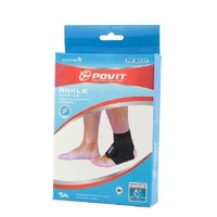 Защитный фиксатор голеностопа NEW PROTECTIVE 1 PC ANKLE SUPPORT SOFT BRACE BLACK