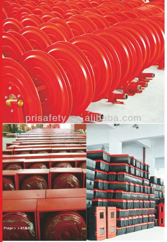 assembly line-- hose reel