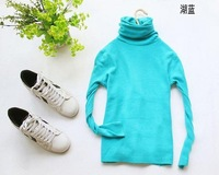Женский пуловер Hot sales long-sleeved turtleneck sweater women primer shirt sweater causal warm pullovers
