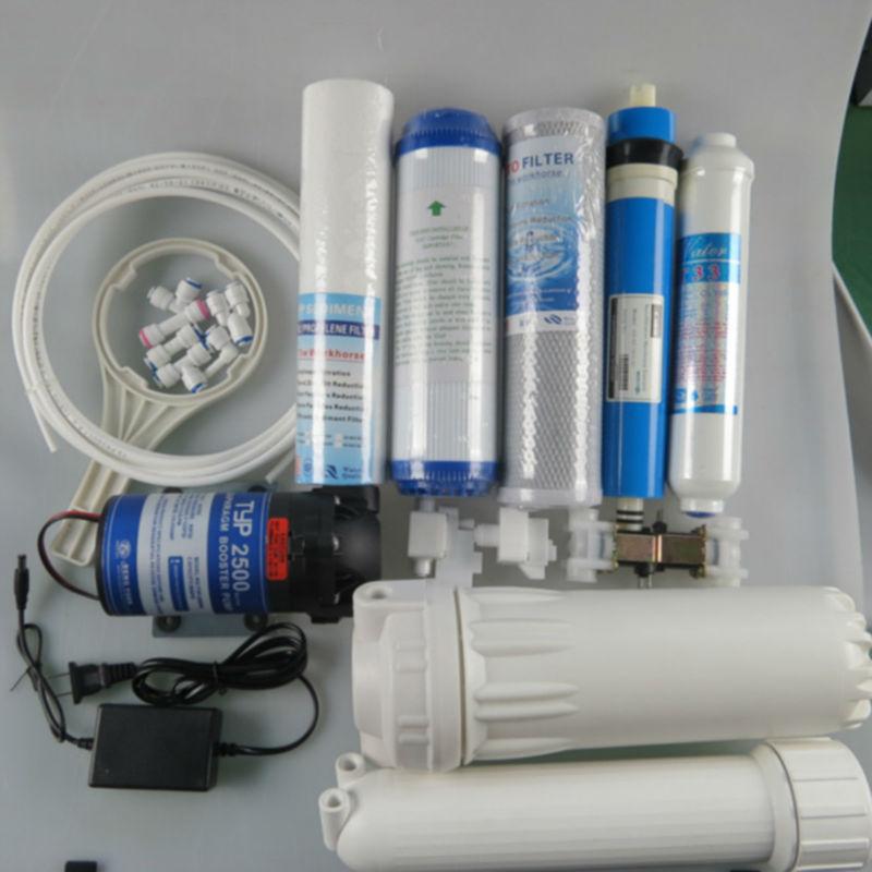 Ro Pump Motor 24v Dc Booster Pump Yili Water Plant View