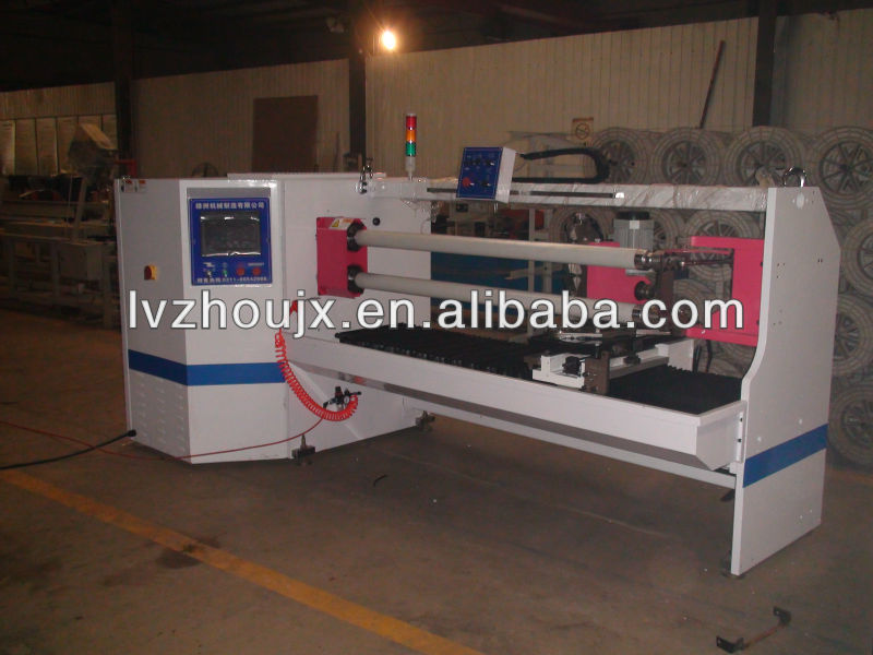China Supplier High Quality Automatic 2 Shafts Adhesive Tape Cutting Machine
