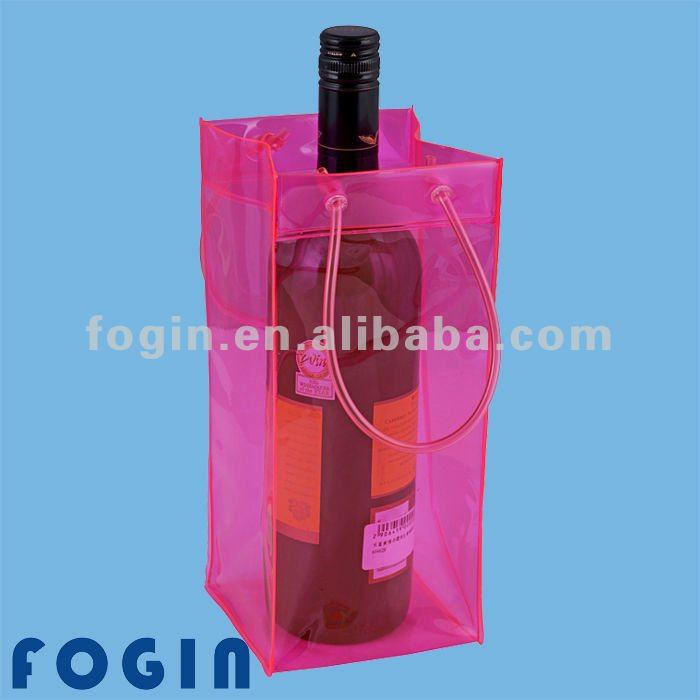 pvc wine bag with handle for packing