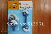 1pair many cute animals Bobbin Winder Digital Accessory MP3 Mp4 Cord Holder Christmas Gift + Free Shipping