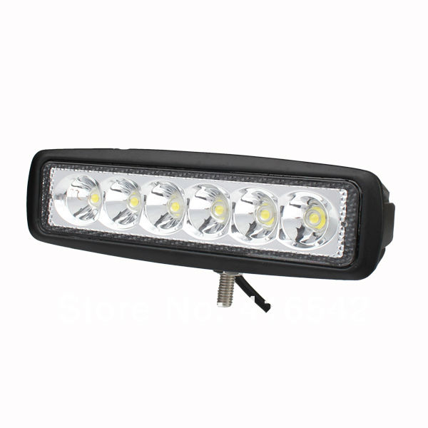 High quality 12V 24V 18W 6X3W LED Work Light ATV SUV Mine Boat Lamp Truck Offroad Boat 4WD IP67 led work lights car