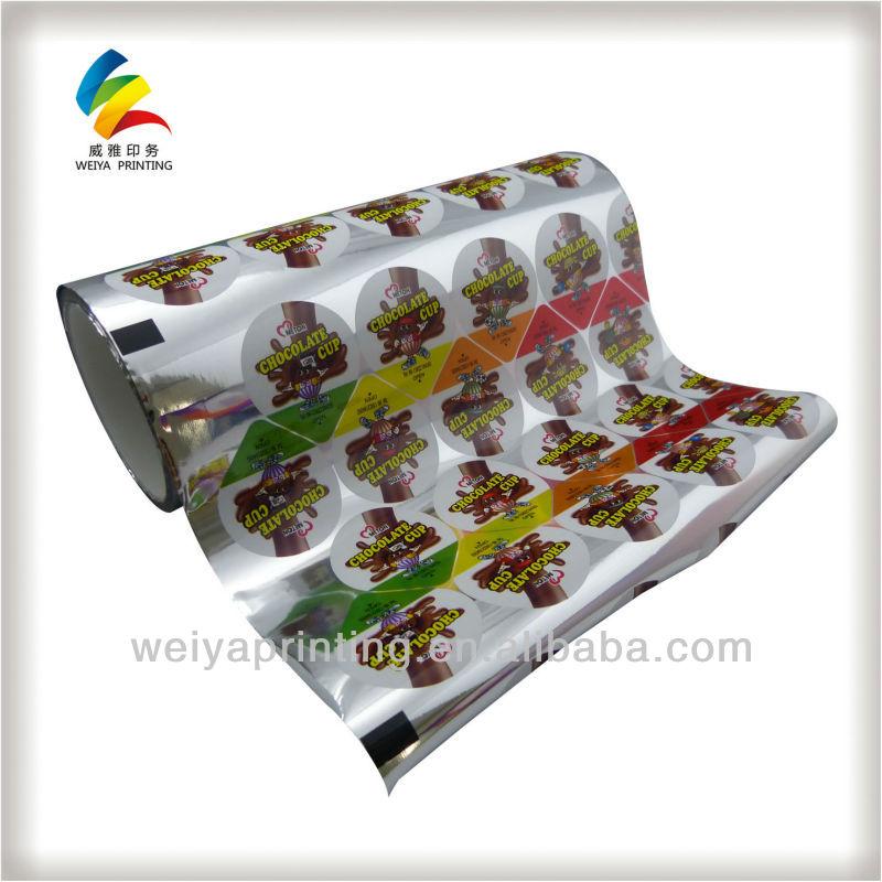 Заполнения мороженое, мороженое упаковочная пленка, металлизированная пленка