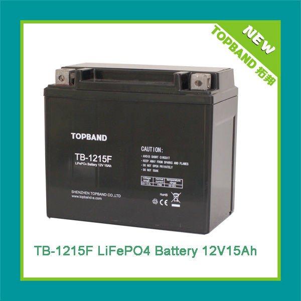 TB-1215 marine lithium ion battery 12v 15ah