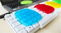 5pcs/Lot Wholesales Free Shipping Magic High-Tech Super Clean slimy,cleaning products,Keyboard Cleaning,Computer Cleaning
