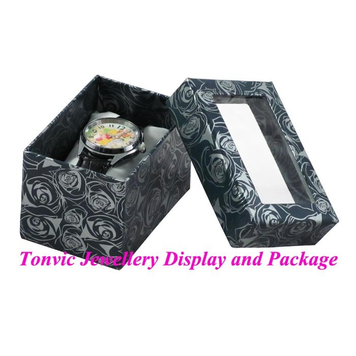 Expedited Shipping 60 Economic Paper Watch Box Colorprinting II