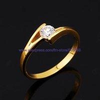 Кольцо 50 pcs/lot fashion ring luxurious gold ring high-grade ring best jewelry best gift