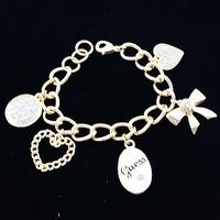 Браслет на ногу usd! jewelry G * s original single trade exquisite diamond bow love bracelet 2013 newest marking