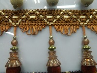 NEW ARRIVAL,  15 meters/lot, ribbons with beads, shining beads,11 colors for your choice, ornament accessory