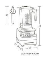 Блендер для сухого молока JTC ,  : tm/800a,  100% , 1 TM-800A