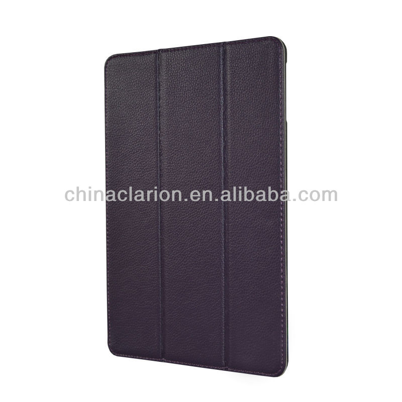 Flip PU Leather Case For Apple iPad Air With wake/sleep Function