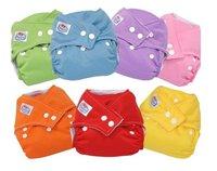 U PICK AIO BABY CLOTH DIAPER 1 SIZE FITS ALL + INSERT Cloth Diaper Mix
