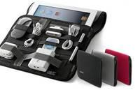 Сетка это коврик обернуть Организатор ноутбук мешок случае Организатор для ipod iphone электроники Камера ноутбука футляр
