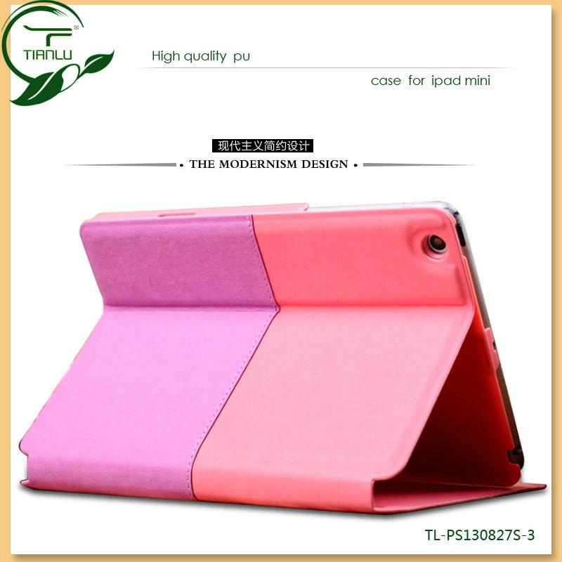 Factory directly customized for Apple ipad mini case/2014 popular design for ipad mini case