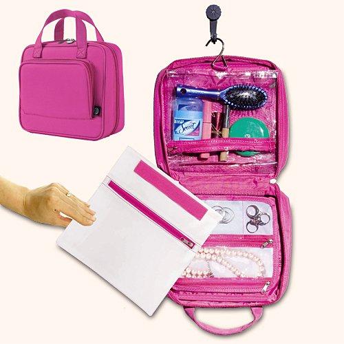 Fashion Womens Hanging Travel Toiletry Bag Cosmetic Travel Bag