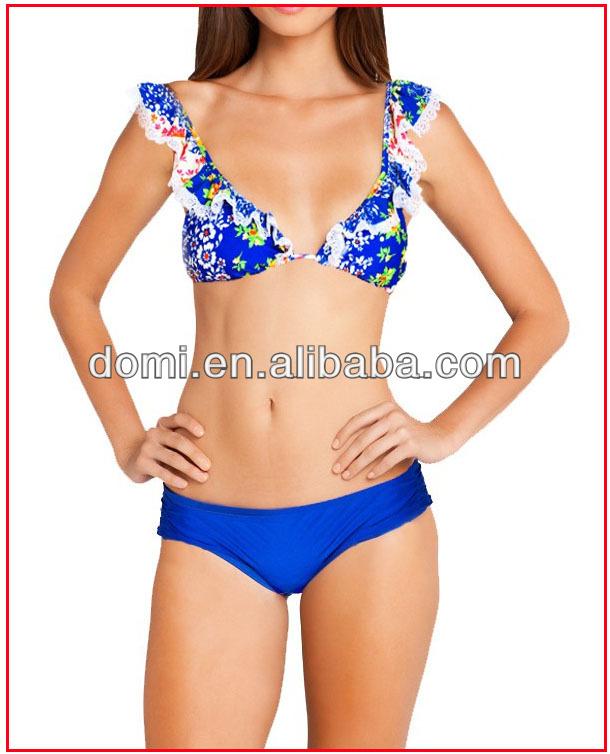 volants garniture bikini maillots de bain sexy filles xxx chine