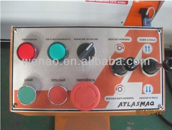 3 roller asymmetric plate rolling machine (W11F-3x1000)