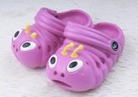 Сандалии для мальчиков Baby sandals HOT! The caterpillar hole hole shoes cute cartoon children's shoes. 316 Резина